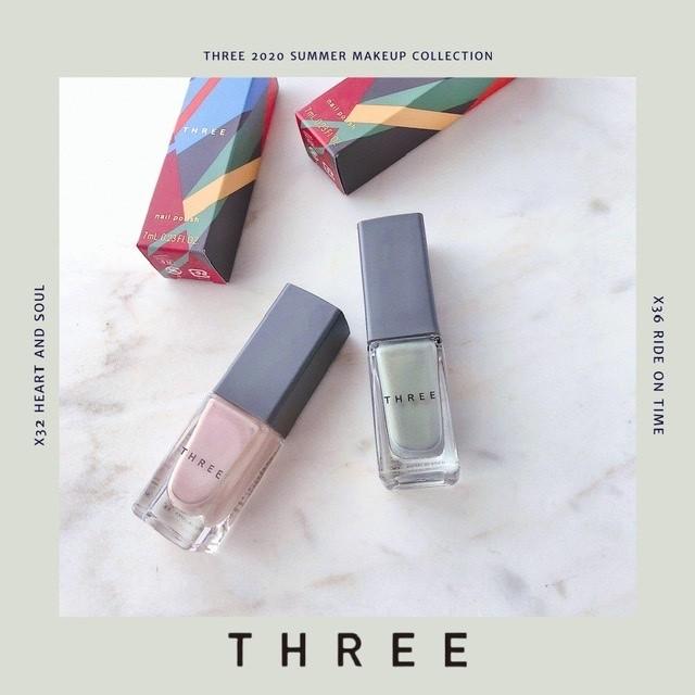 THREEのネイル