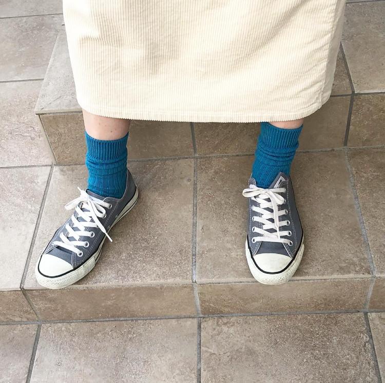 春に使えるUNIQLOのカラー靴下がかわいい‼︎_1