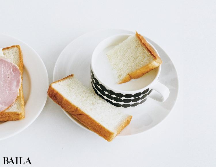 牛乳浸し赤ちゃんパン