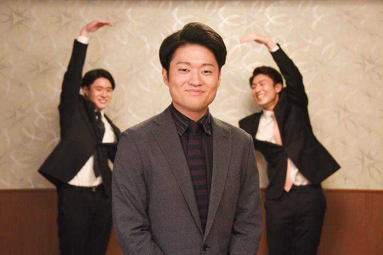 成駒屋3兄弟 8月南座インタビュー スリーショット