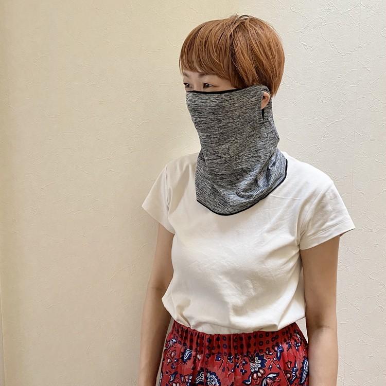 マスク代用品で売れている!?【しまむら】抗菌防臭&UVカット機能つき涼感ネックガードを試してみた_6