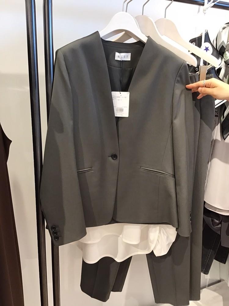 【PLST(プラステ)】2021秋冬新作展示会Comfort&Luxeジャケット2
