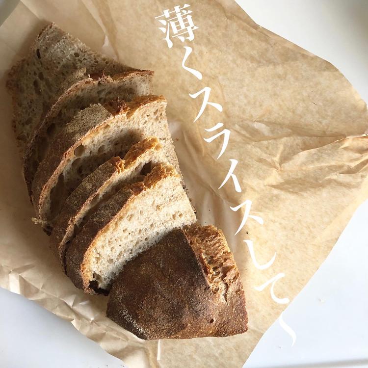代々木にある新釜で焼くカンパーニュと食パンのパン屋さん_9