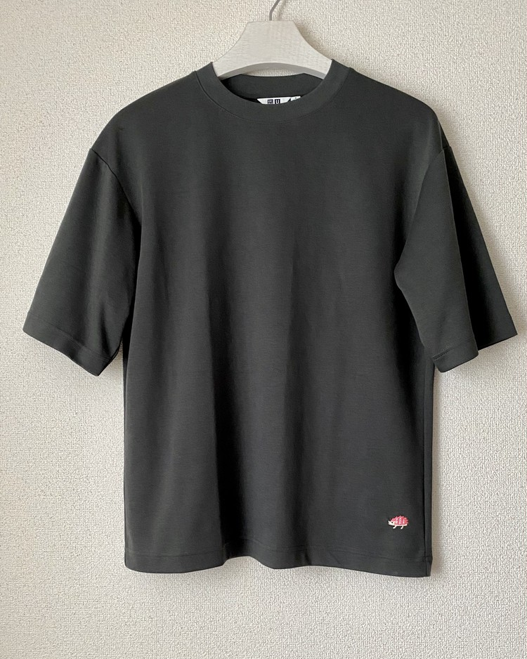 エアリズムコットンオーバーサイズTシャツ(¥1500+税)