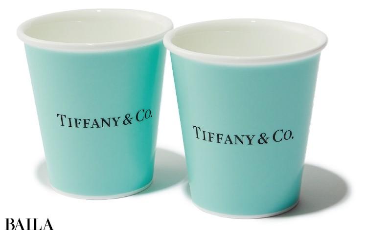 ティファニー/ボーンチャイナ ペーパーカップ