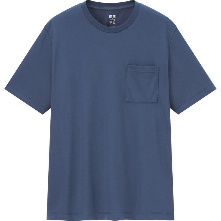 エアリズムカノコ スリムフィットTシャツ(半袖) ¥1500