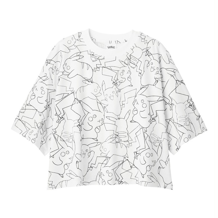 【写真】GU×ポケモンのパジャマ・Tシャツでお家時間を楽しく_13