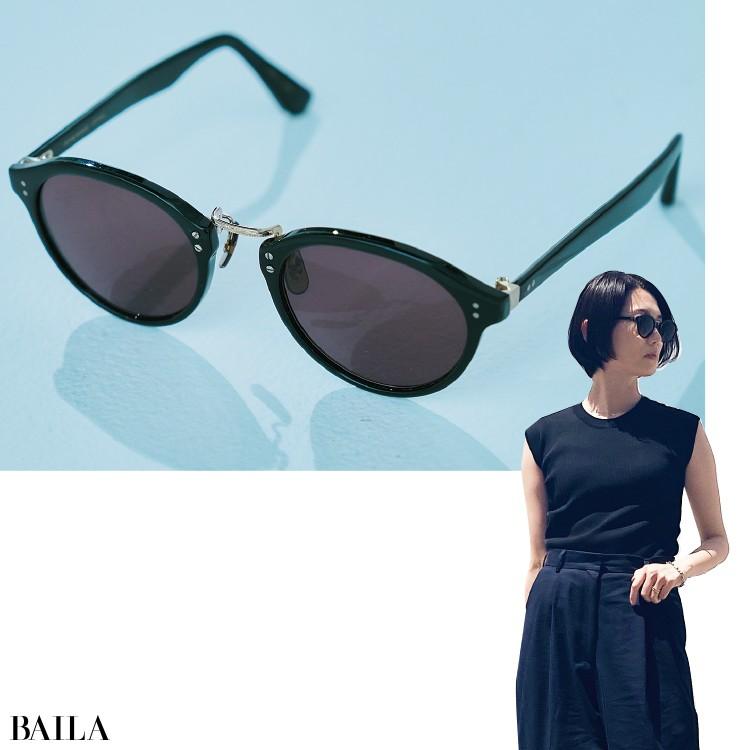吉田有希さん OLIVER PEOPLESのサングラス