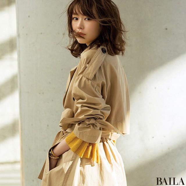 桐谷美玲の主張♡ 春コートは【ゆるっトレンチ】でスタンバイすべき3大理由_1