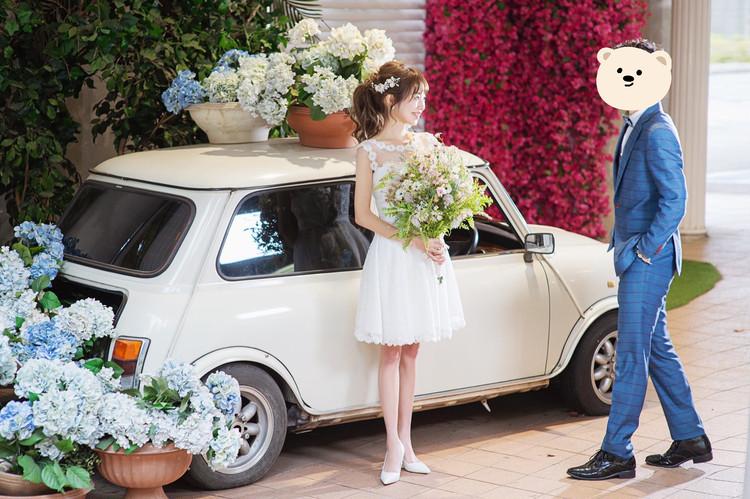 《WeddingPhoto》韓国気分でウェディング撮影を♡_3