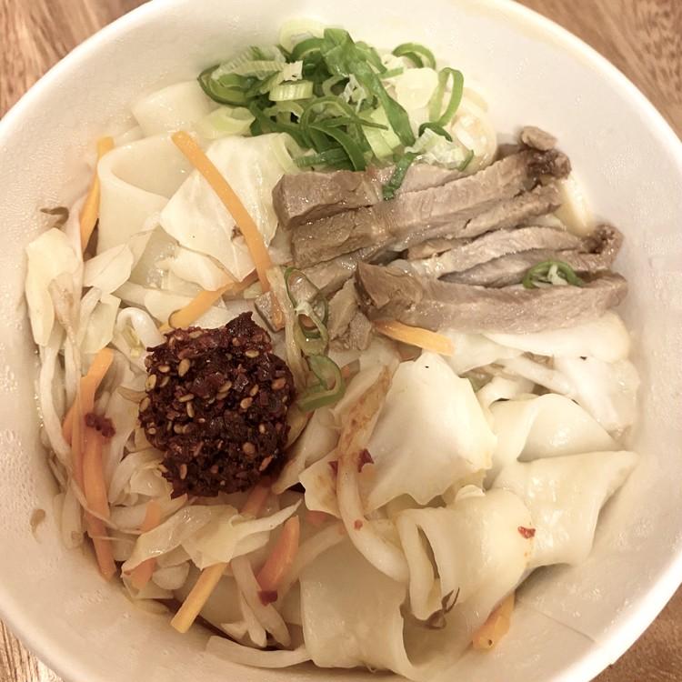 ビャンビャン麺はどんな味