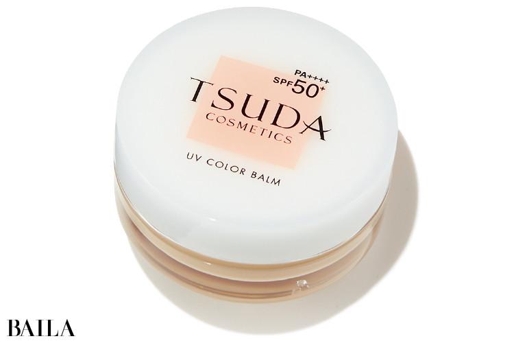 ドクター津田コスメラボのTSUDA UV カラーバーム ベージュオークル