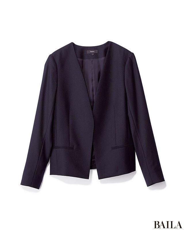 パンツ×ジャケットコーデも、技ありスキニーでしゃれ見え!_2_1