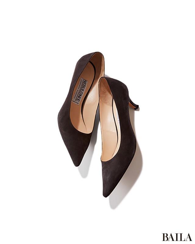 細身パンツ×ヒール靴の美脚コンビは、腰高バランスで秋バランスに_2_3
