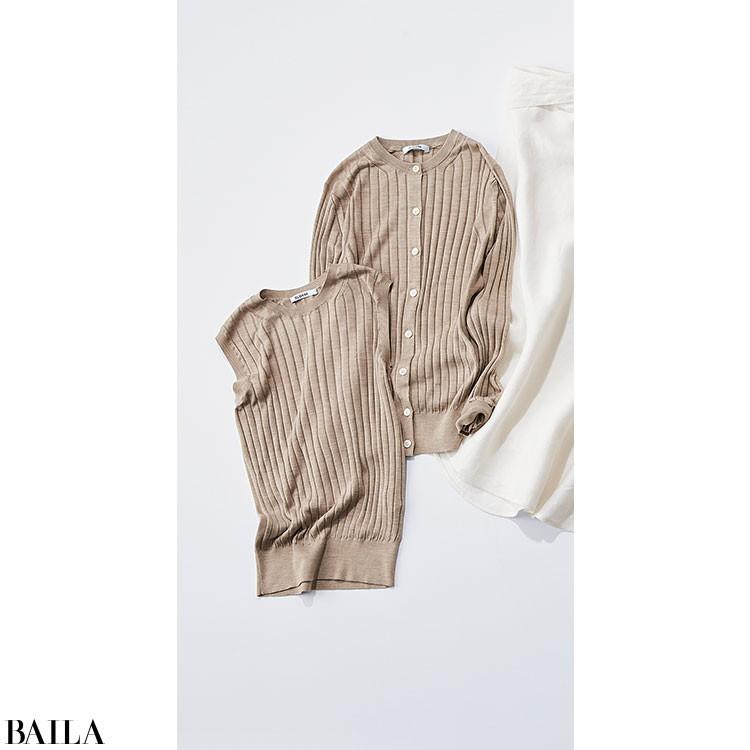 バタバタの金曜は、フェミニン配色のパンツスタイル【2020/6/5のコーデ】_2_3