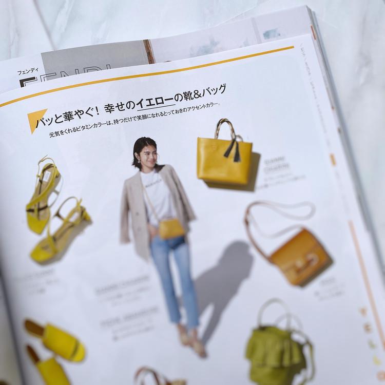 ZARAワンピ×イエローバッグで春コーデ&今月号の付録紹介!_6