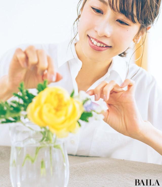 初夏のエネルギーに満ちたバラの生け方いろいろ【カトパンのあえて小さく飾る花レッスン】_6