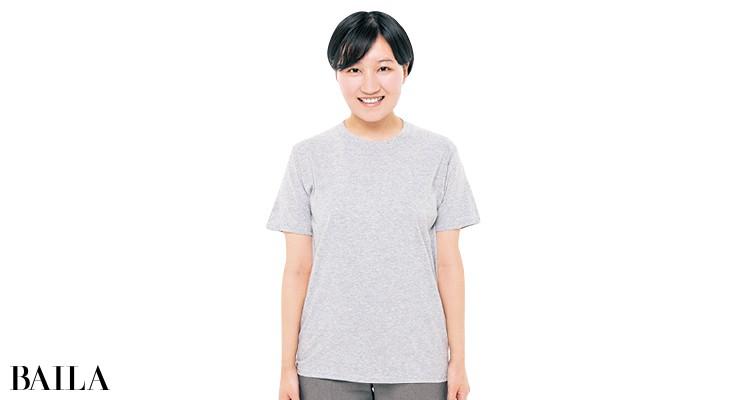 フルーツ オブ ザ ルームのTシャツを編集Mが試着