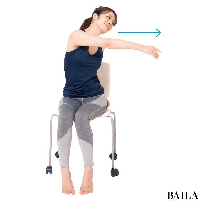 オフィスでできる!3筋肉を鍛えて姿勢美人【姿勢で-2kgヤセ見え⑨】_1_8