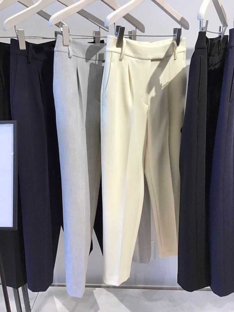 【PLST(プラステ)】2021秋冬新作展示会PLUS STYLE PANTS