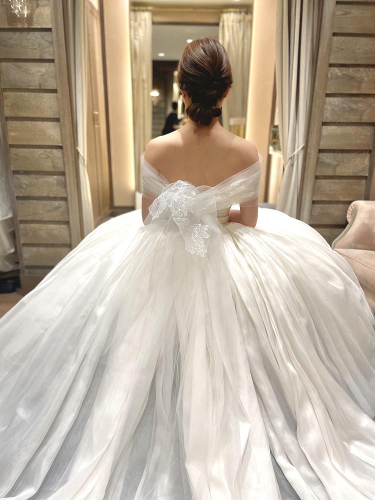 準備再開【パレス花嫁】2021SS新作ドレスを試着しました♡_12