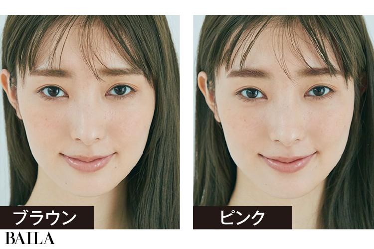 A.眉にカラーをプラスするとそれだけで雰囲気が変わりますよ