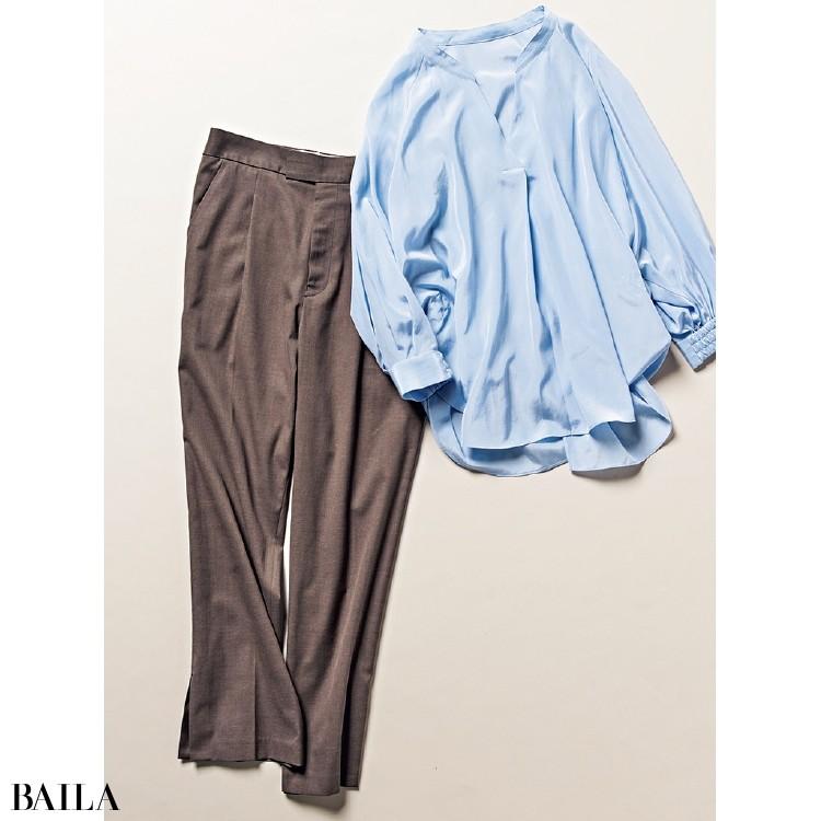 ルージュ・ヴィフのシャツとパンツ