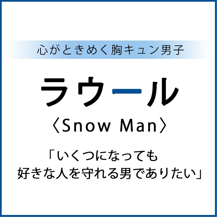 【#SnowMan #ラウール】 Snow Man ラウールスペシャルインタビュー!1
