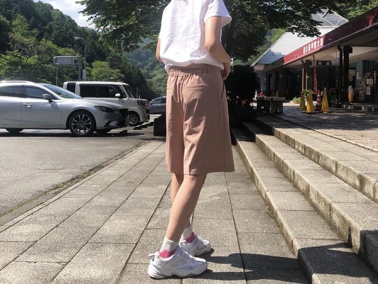 タイダイ柄の靴下どう履く?夏のアウトドアコーデ_5