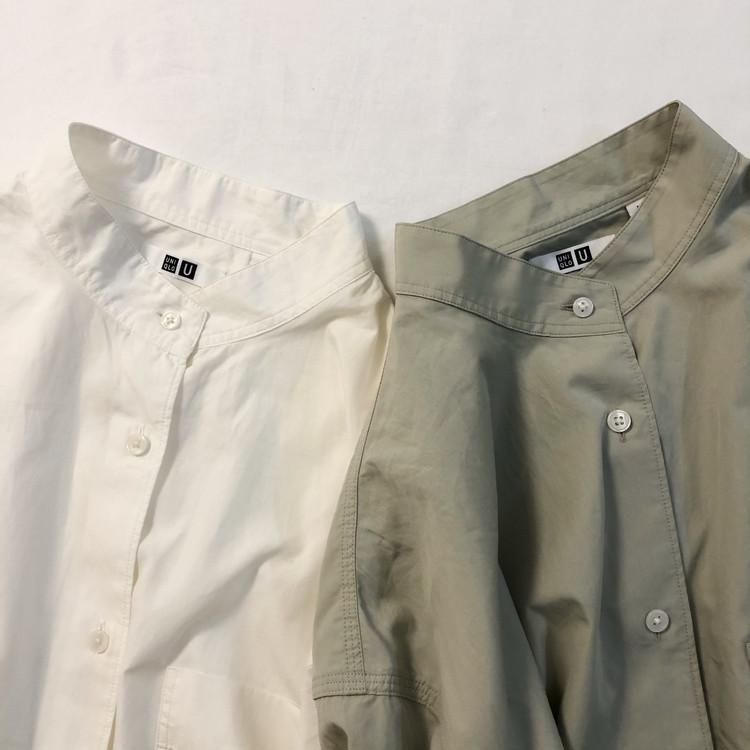 【UNIQLO U】新作オーバーシャツで作る淡色コーデ。_1