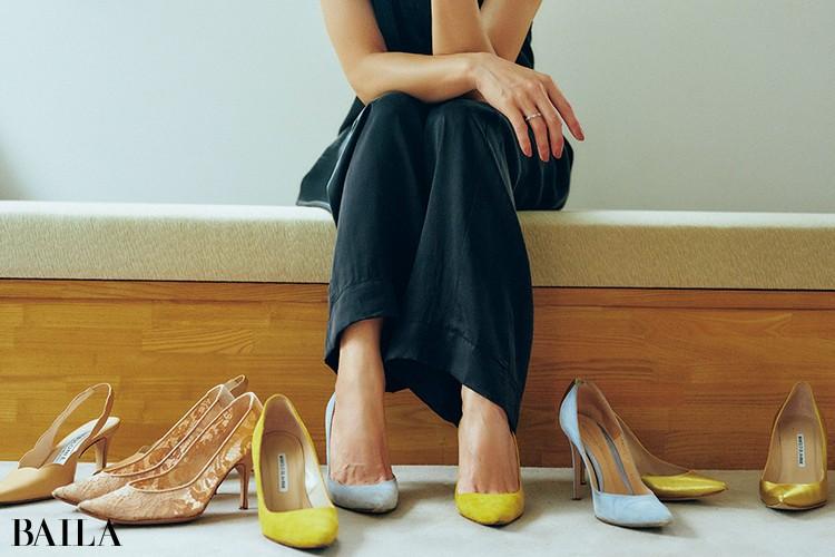 Q. いちばん多く持っている靴は?