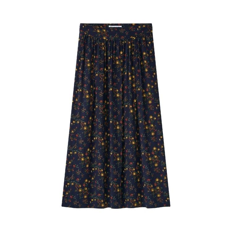 ユニクロ × イネス・ド・ラ・フレサンジュ 2021年秋冬コレクション レーヨンギャザースカート¥3990