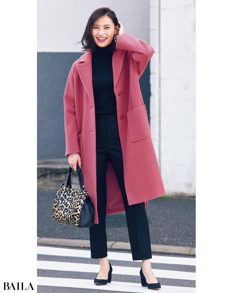 Mila Owen[ミラ オーウェン]のきれい色コート
