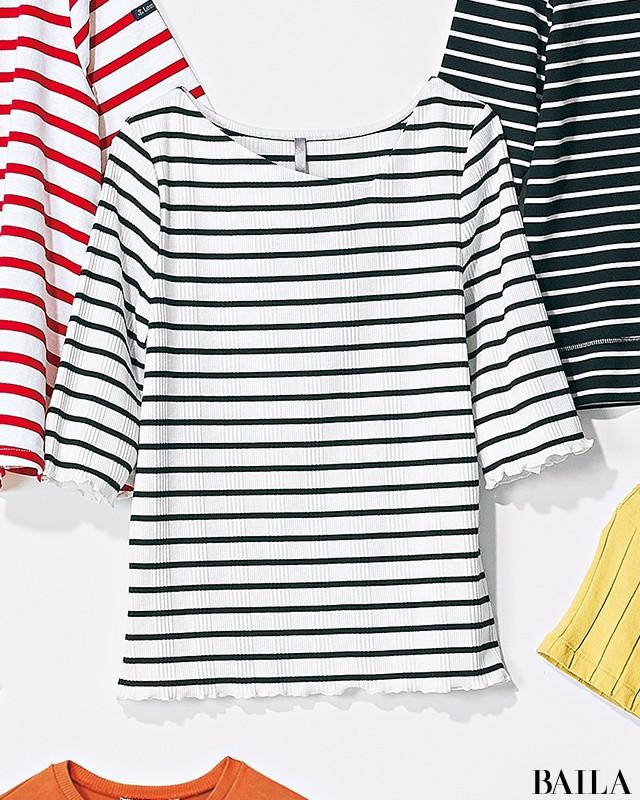 【甘め派・Tシャツ7選】フレンチシックTシャツで可愛げ+知的な印象をゲット!_5