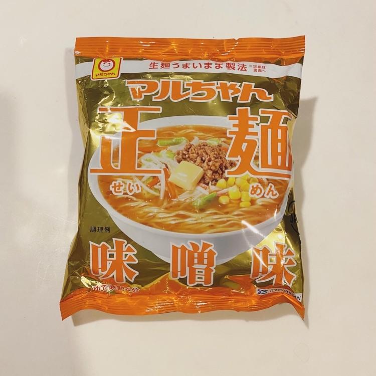 マルちゃん正麺 味噌味[東洋水産株式会社]