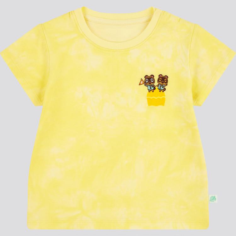 あつまれ どうぶつの森 UT グラフィックTシャツ(半袖) イエロー