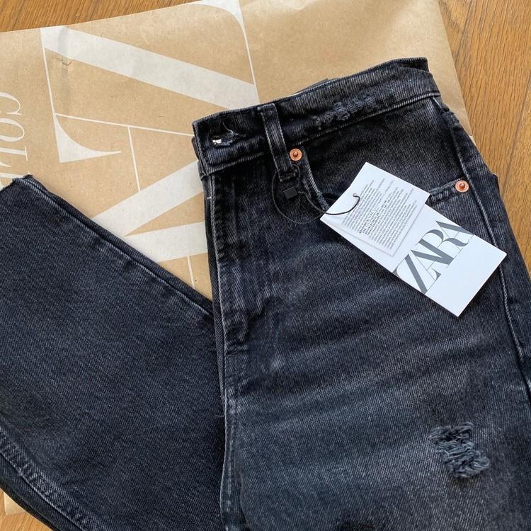 【最近の購入品】ZARAのブラックデニムを買いました!_2