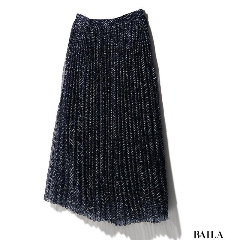 休日の英会話レッスンは、Tシャツ×透け感スカートのリラックスサマーコーデ【2019/8/3のコーデ】_2_1