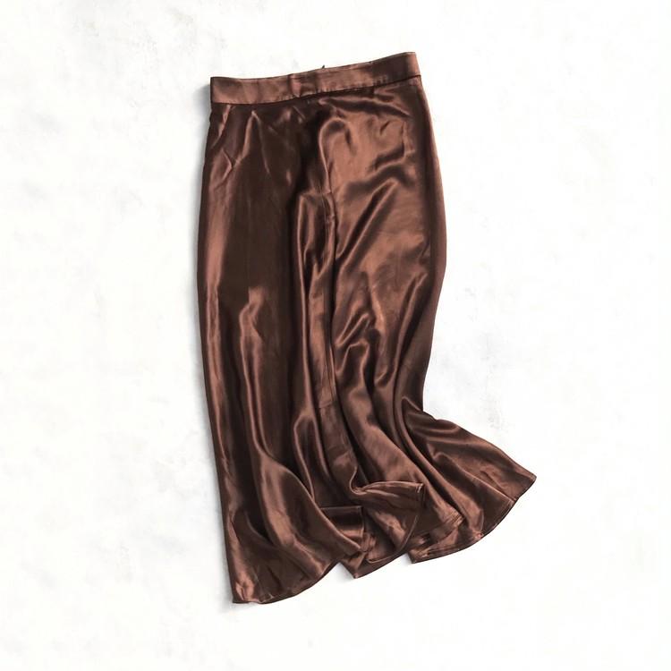 ZARA ザラ サテン地スカート