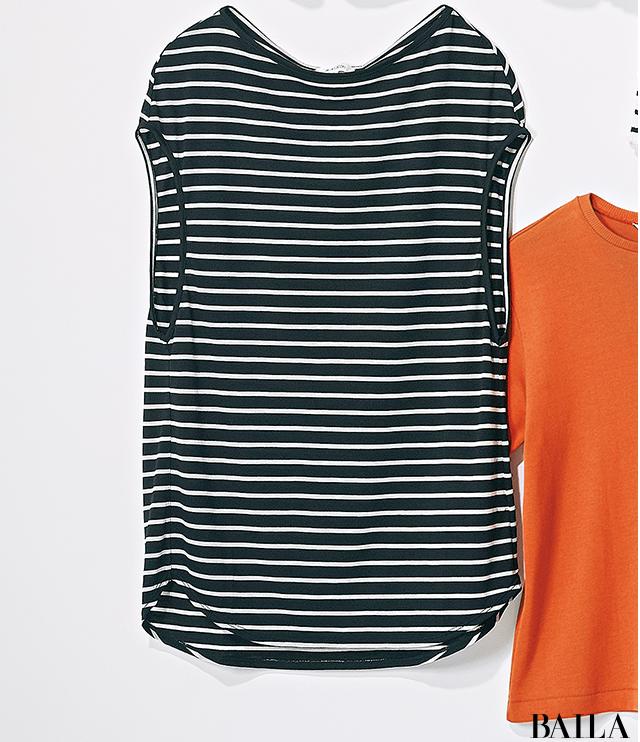【甘め派・Tシャツ7選】フレンチシックTシャツで可愛げ+知的な印象をゲット!_8