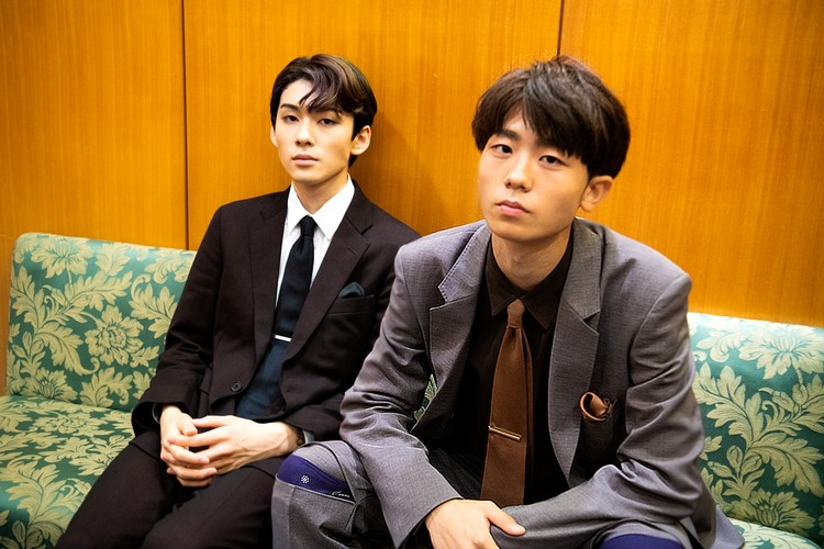 染五郎と團子ツーショット写真
