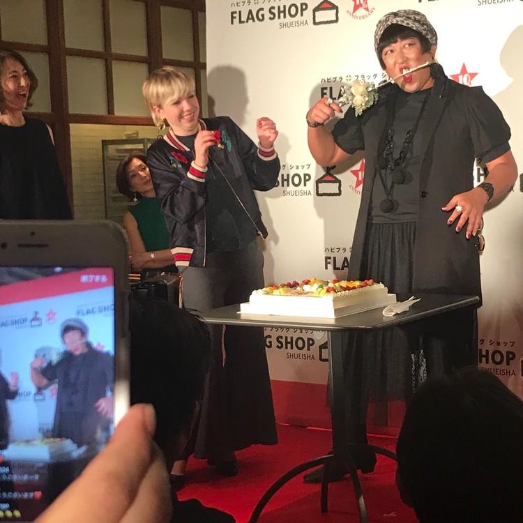 YOKO FUCHIGAMIもお祝い♪ FLAGSHOP10周年パーティレポ_2_7