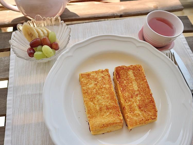 ふわっとろ【ホテルオークラ風フレンチトースト】を朝食に♪_1