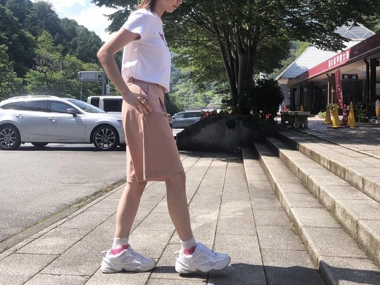 タイダイ柄の靴下どう履く?夏のアウトドアコーデ_3