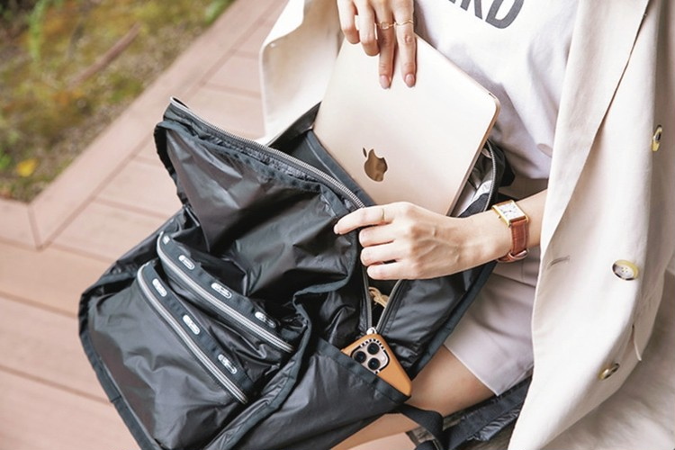 レスポートサック機能性高いバッグパック