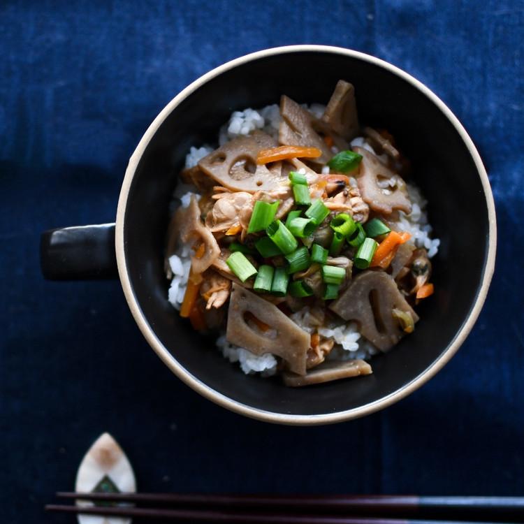 【無印良品】ごはんにかける あさりと生姜の深川飯の食べ方