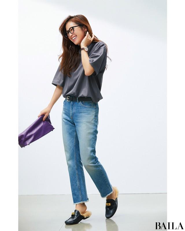 Tシャツ&デニムに足すだけで素敵♡【シンプル+1】4つの簡単なこと_2_4