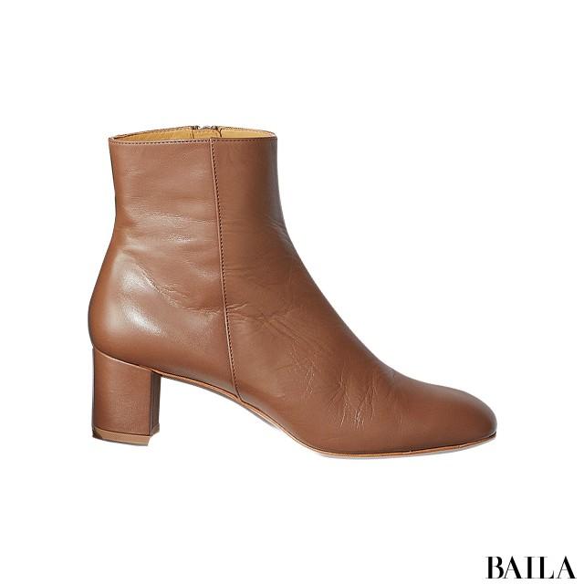 【ブーツ】この秋いちばん使えるから売れてるのはブラウン&太ヒール!_1_2