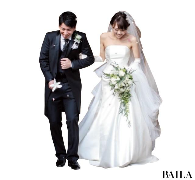 【スーパーバイラーズの花嫁ルポ】10年たっても絶対素敵な花嫁姿を拝見! _2