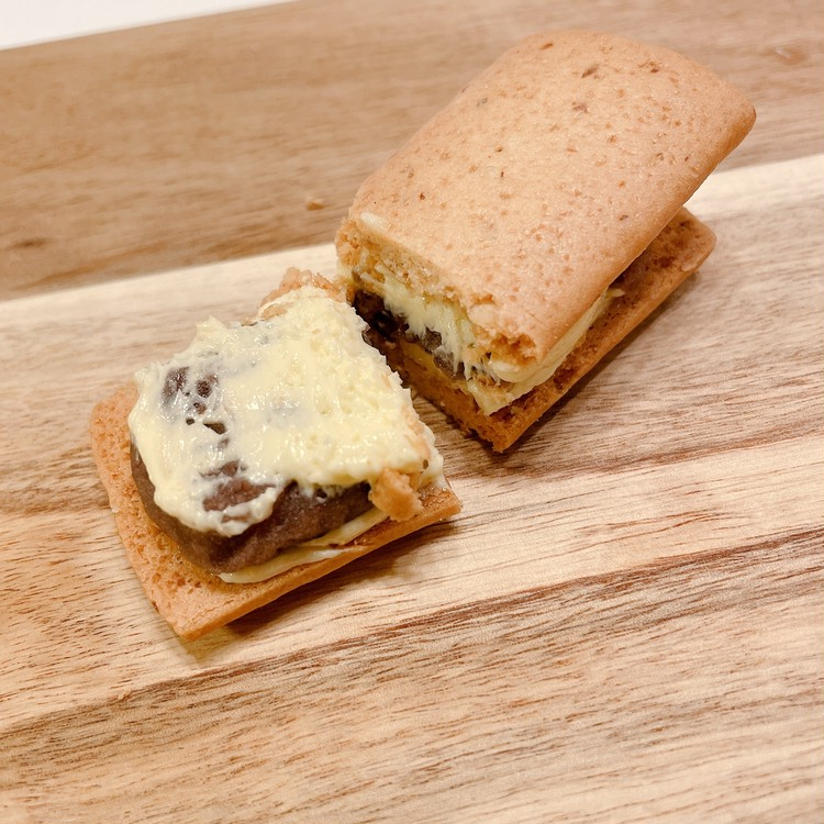 「Huffnagel(フフナーゲル)」の「オーツクッキー バタークリーム フィリングセレクション」の「あんバター」